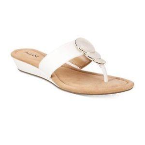 Alfani White Sandals